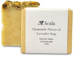 Acala Chamomile Flowers And Lavender Soap 100g