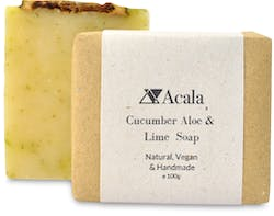 Acala Cucumber Aloe And Lime Soap 100g