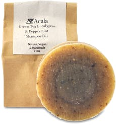Acala Green Tea, Peppermint And Eucalyptus Shampoo Bar 100g