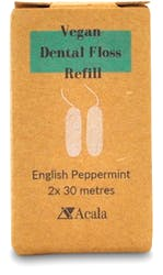Acala Naturalcorn Dental Floss Refill 2x 30m clews