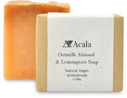 Acala Oatmilk Almond And Lemongrass Soap 100g
