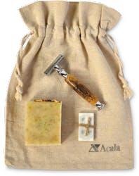 Acala Zero Waste Shaving Bag Without Brush