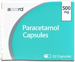 Accord Paracetamol 500mg 32 Capsules
