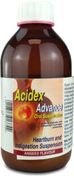 Acidex Advanced Oral Suspension Aniseed 500ml