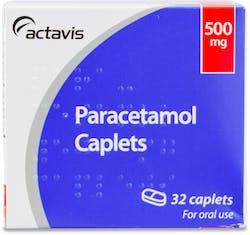 Actavis Paracetamol 500mg 32 Caplets