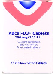 Adcal -D3 750mg/200 I.U 112 Caplets