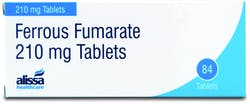 Alissa Ferrous Fumarate 210mg 84 Tablets