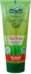 Aloe Pura Aloe Vera Gel with Antiseptic Tea Tree Oil 200ml