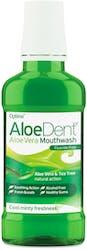 AloeDent Aloe Vera Mouthwash Fluoride Free 250ml