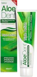 AloeDent Triple Action Toothpaste Fluoride Free 100ml