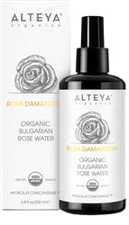 Alteya Organic Bulgarian Rose Water Rosa Damascena 200ml - Glass Bottle