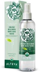 Alteya Organic Bulgarian White Rose Water (Rosa Alba) 250 ml Spray