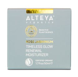 Alteya Organic Timeless Glow Renewal Moisturizer Rose Jasminium 50ml