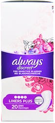 Always Discreet Plus 20 Liners