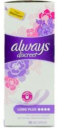 Always Discreet Plus 20 Liners