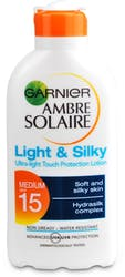 Ambre Solaire Light and Silky Sun Cream SPF15 200ml