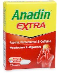 Anadin Extra 12 Caplets