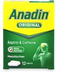 Anadin Original 12 tablets