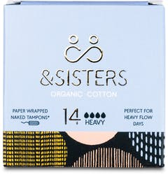 &SISTERS Naked Tampons Heavy 14 Pack
