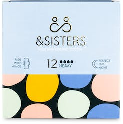 &SISTERS Pads With Wings Heavy/Night 12 Pack