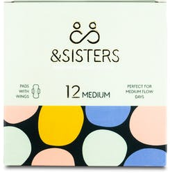 &SISTERS Pads With Wings Medium 12 Pack
