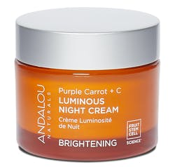 Andalou Purple Carrot + C Luminous Night Cream  50g