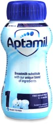 Aptamil 1 First Infant Milk 0-6 Months 200ml