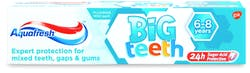 Aquafresh Big Teeth Fluoride Toothpaste 6-8 Years 50ml