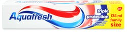 Aquafresh Triple Protection Fluoride Toothpaste 125ml