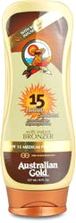 Australian Gold SPF 15 Lotion With Bronzer 237ml