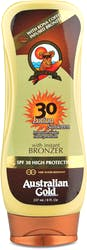Australian Gold SPF 30 Lotion With Bronzer 237ml