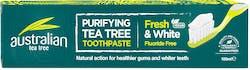 Australian Tea Tree Fresh And White Toothpaste 100ml