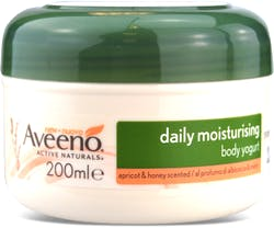 Aveeno Daily Moisturising Body Yogurt Apricot & Honey 200ml