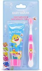 Baby Shark Toothbrush & Toothpaste 75ml
