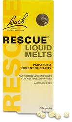 Bach Rescue Day Melts 28 Capsules