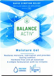 Balance Activ Moisture Gel Pre-filled Single Use Applicators 7s