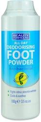 Beauty Formulas Deodorising Foot Powder 100g