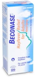 Beconase Hayfever Relief for Adults 100 Doses