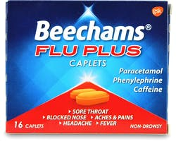 Beechams Flu Plus 16 Caplets