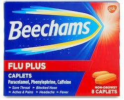 Beechams Flu Plus Cold and Flu 8 Caplets