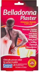 Belladonna Plaster Pain Relief 2 Small