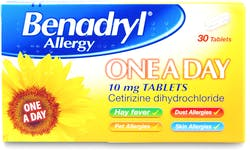 Benadryl Allergy One A Day Tabs 30