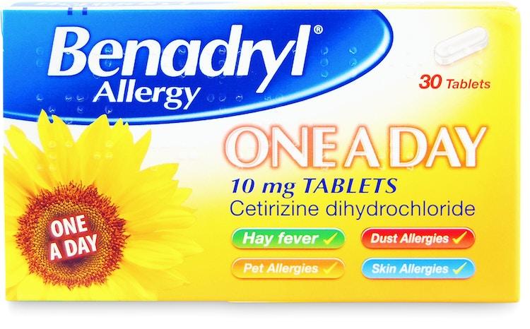 Benadryl Allergy One A Day Tabs 30