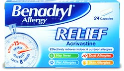 Benadryl Allergy Relief 24 Cpasules