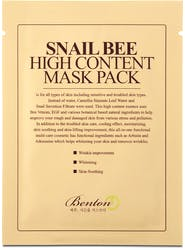 Benton Snail Bee High Content Mask 20g