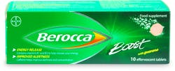 Berocca Boost with Guarana 10 Tablets