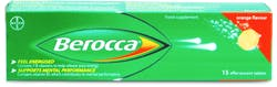 Berocca Orange 15 Effervescent Tablets
