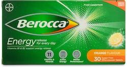 Berocca Orange Effervescent tablets 30s