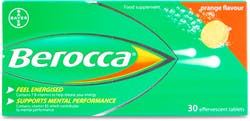 Berocca Orange Flavour 30 Tablets