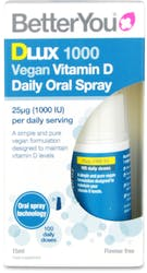 BetterYou Dlux 1000 Vegan Vitamin D Oral Spray 15ml